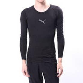プーマ PUMA メンズ フィットネス 長袖 コンプレッションインナー テック ライト LS Tシャツ 516711