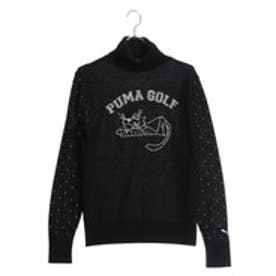 プーマ PUMA レディース ゴルフ 長袖セーター ゴルフ タートル ネックセーター 923650