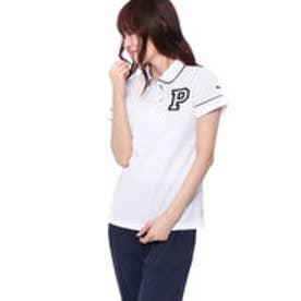 プーマ PUMA レディース ゴルフ 半袖 シャツ パイピングSSポロシャツ 923723