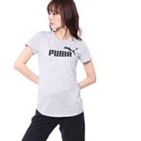 プーマ PUMA レディース 半袖 Tシャツ ESS NO.1 TEE HEATHER W 592992