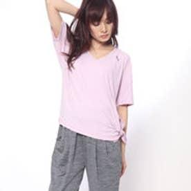 プーマ PUMA レディース フィットネス 半袖Tシャツ エクスプローシブ リブ Vネック Tシャツ 517597