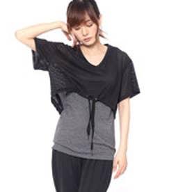 プーマ PUMA レディース フィットネス 半袖Tシャツ A.C.E. メッシュ レイヤー Tシャツ 517553