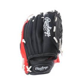 ローリングス Rawlings ジュニア用 軟式野球 野手用グラブ ローリングス グラブ&ボールセット J00604166