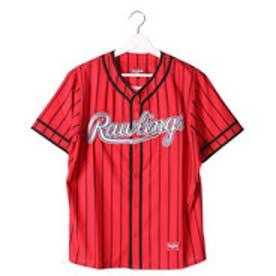 ローリングス Rawlings メンズ 野球 半袖Tシャツ AOS6F11-RD/B J00571700