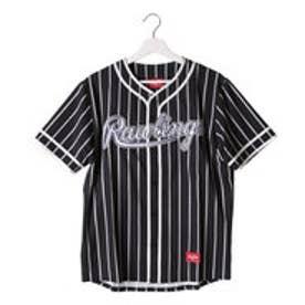 ローリングス Rawlings メンズ 野球 半袖Tシャツ AOS6F11-B/W J00571696