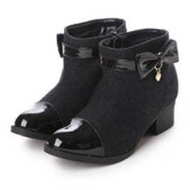 リオ Rio ジュニア ブーツ サイドリボンチャーム付きブーティー R43711-69 8189