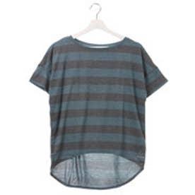 リーボック REEBOK レディース フィットネス 半袖Tシャツ ヨガ ボーダーTシャツ BC5165
