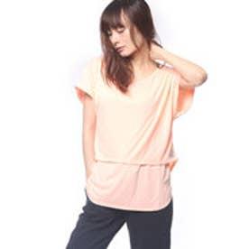 リーボック REEBOK レディース フィットネス 半袖Tシャツ ヨガ Tee for tights レイヤード CE8350