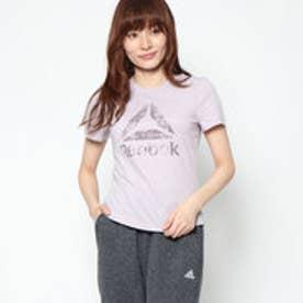 リーボック REEBOK レディース フィットネス 半袖Tシャツ ELマーブルショートスリーブTシャツ D95548