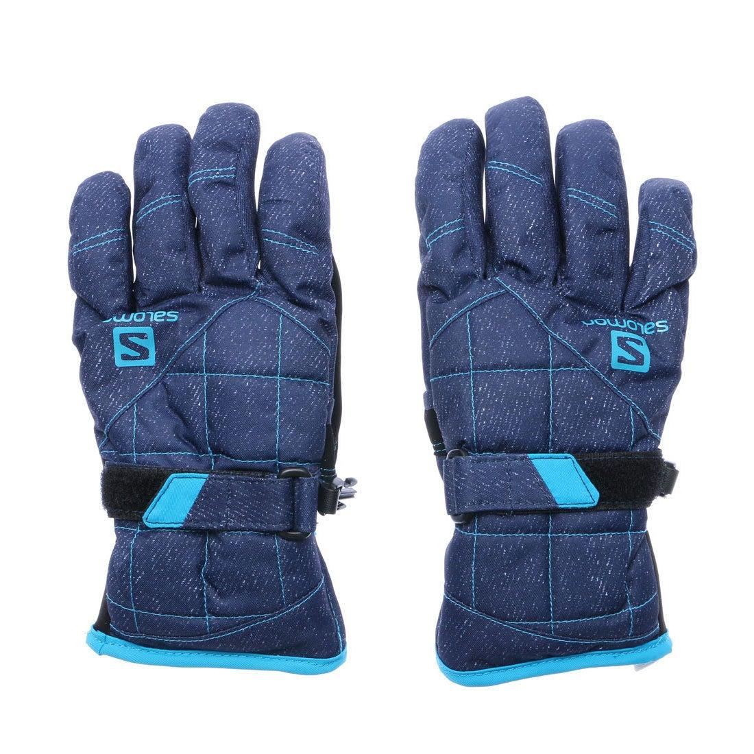 【SALE 30%OFF】サロモン Salomon レディース スキー グローブ JP SALOMON LUAN GLOVE W L40287100