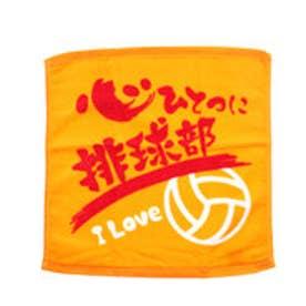 サワショウ SAWASHOU バレーボール 小物 バレーボールプリントハンドタオル PT-KOKO-YL