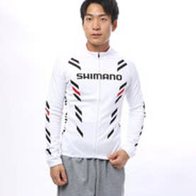 シマノ SHIMANO メンズ バイシクル サイクルジャージ/ジャケット サーマル プリント ロングスリーブ ジャージ SPWQS32MI2