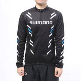 シマノ SHIMANO メンズ バイシクル サイクルジャージ/ジャケット サーマル プリント ロングスリーブ ジャージ SPWQS32ML2