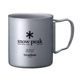 スノーピーク snow peak キャンプ クッキング チタンダブルマグ 450 0589172436