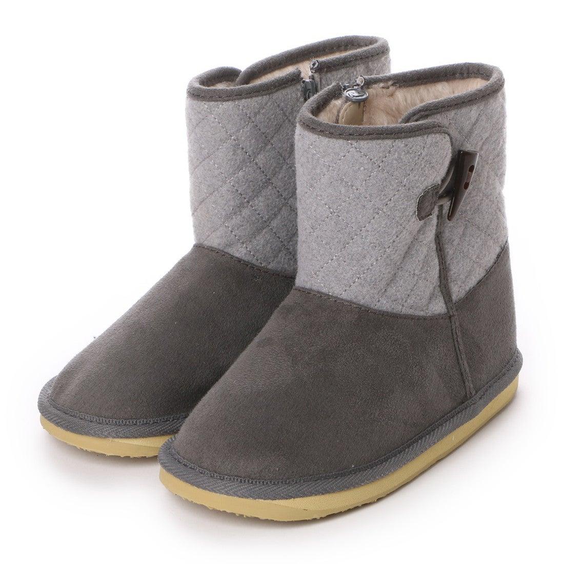 ロコンド 靴とファッションの通販サイトスポーツデポSPORTSDEPOジュニアブーツトグルツキキルティングムートンブーツME98138206