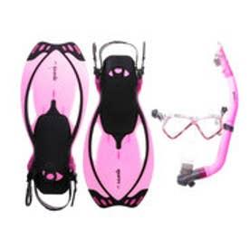 マレス mares ジュニア マリン シュノーケルセット ALLEGRA PIRATE SET Pink(アレグラ ピラテ セット ピンク) ALLEGRAPIR