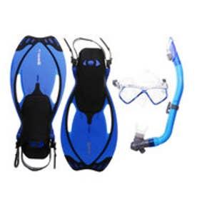 マレス mares ジュニア マリン シュノーケルセット ALLEGRA PIRATE SET Blue(アレグラ ピラテ セット ブルー) ALLEGRAPIR