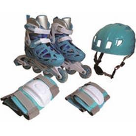 スポーツデポ SPORTS DEPO ジュニア レジャー用品 玩具 ジュニアインライン コンボセット LIGHT BLUE CA475FBLS