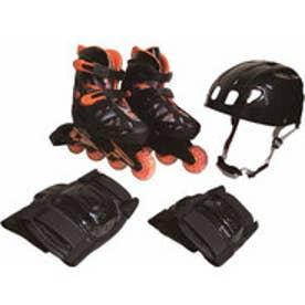 スポーツデポ SPORTS DEPO ジュニア レジャー用品 玩具 ジュニアインライン コンボセット BLACK CA475FBKS