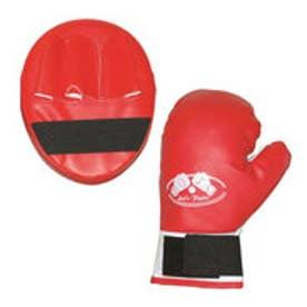 スポーツデポ SPORTS DEPO ジュニア レジャー用品 玩具 ファミリーボクシング グローブ&ミットセット BS206RD