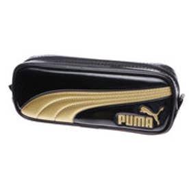 スポーツデポ SPORTS DEPO メンズ 筆箱 エナメルラインペンケース 黒 971PMBK