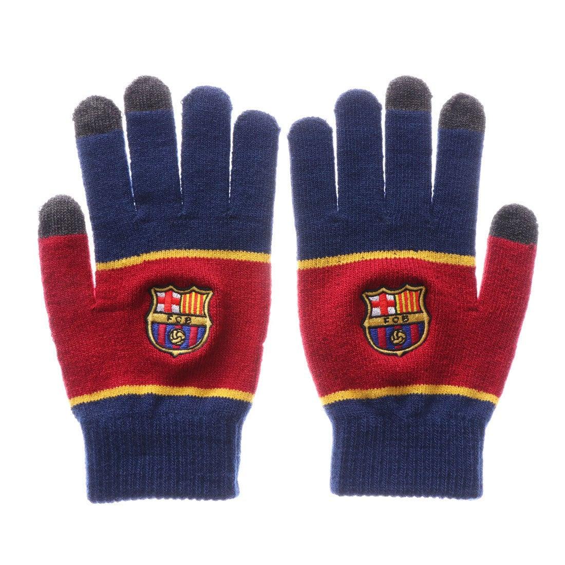 ロコンド 靴とファッションの通販サイトスポーツデポ SPORTS DEPO サッカー/フットサル ライセンスグッズ FCバルセロナ スマホ対応手袋 BCN30907
