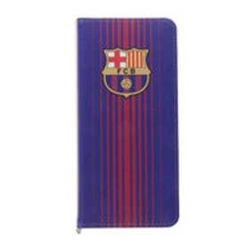 スポーツデポ SPORTS DEPO サッカー フットサル ライセンスグッズ FCバルセロナ 手帳型スマホカバー(ネイビー×レッド) BCN31734
