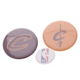 スポーツデポ SPORTS DEPO バスケットボール ウェア/小物 缶バッチ(3個セット) CAVALIERS NBA32002