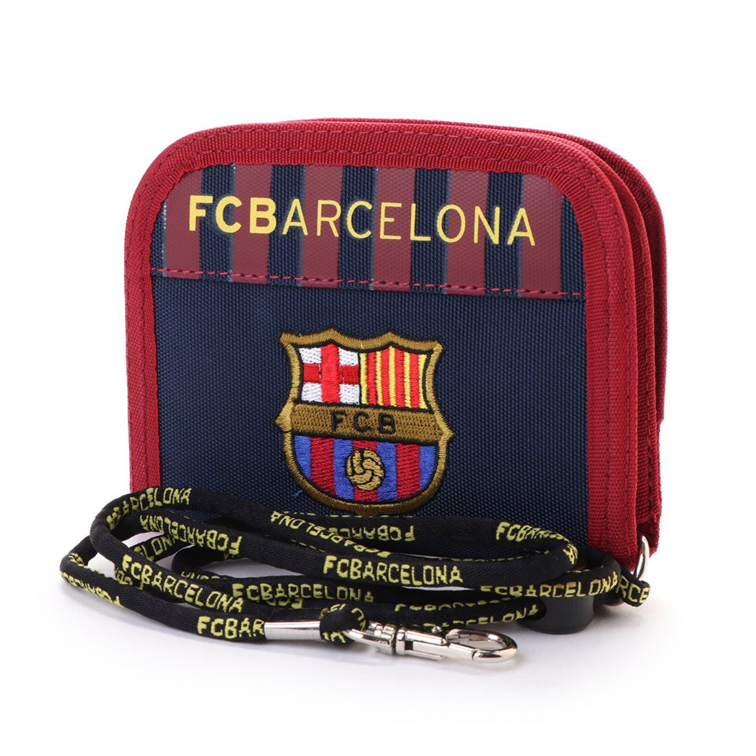 ロコンド 靴とファッションの通販サイトスポーツデポ SPORTS DEPO サッカー フットサル ライセンスグッズ FCバルセロナ ラウンドウォレット FCB-072