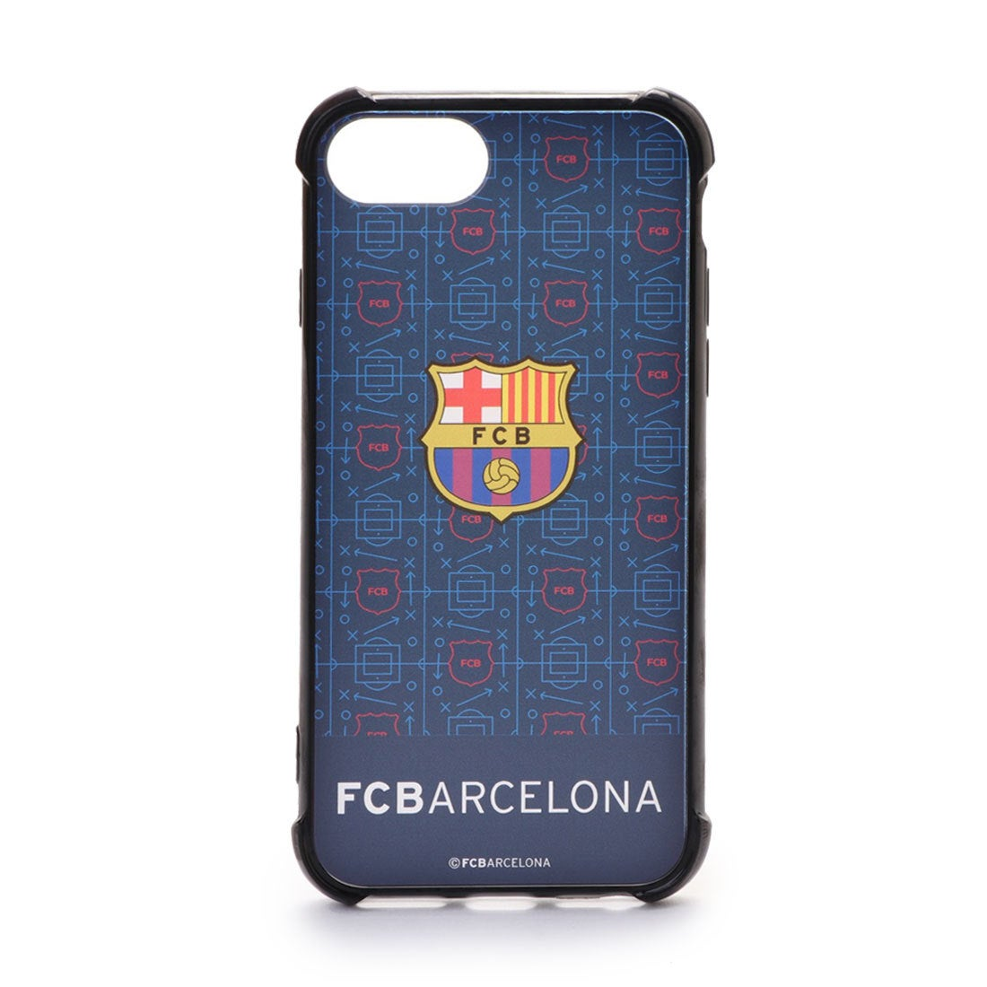 ロコンド 靴とファッションの通販サイトスポーツデポ SPORTS DEPO サッカー フットサル ライセンスグッズ FCバルセロナ iPhone 6/7/8 ハードカバー BCN32165