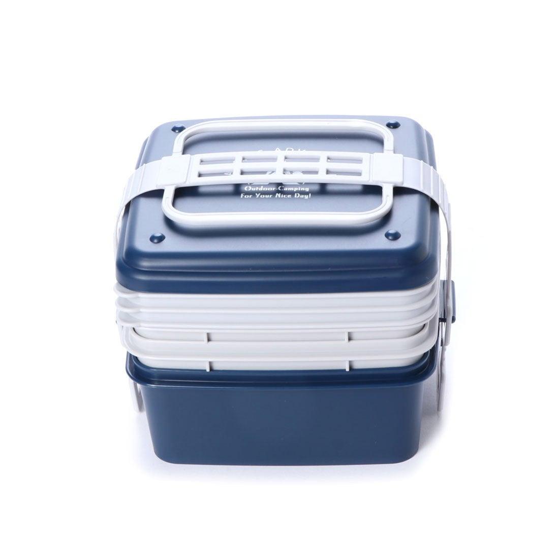 ロコンド 靴とファッションの通販サイトスポーツデポ SPORTS DEPO キャンプ 食器 ファミリーランチBOX 3段式 9336030608