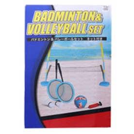 スポーツデポ SPORTS DEPO レジャー用品 玩具 バドミントン&バレーセット 9305031008
