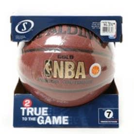 バスケットボール 練習球 ゴールド 7号 74-610ZI