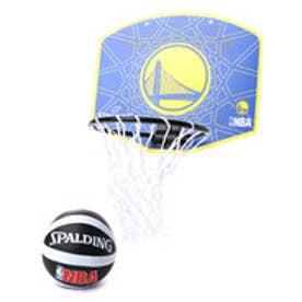 スポルディング SPALDING バスケットボール ミニバックボード マイクロミニ ウォーリアーズ 77-642Z