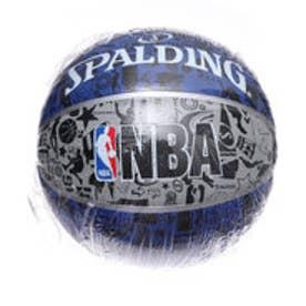 スポルディング SPALDING バスケットボール 練習球 グラフィティ ブルー 7号球 83-176Z