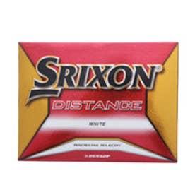 スリクソン SRIXON ゴルフ 公認球 2018 SRIXONディスタンス ホワイト SNDIS8WH12