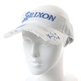 スリクソン SRIXON レディース ゴルフ サンバイザー スリクソン レディスバイザー(星アップリケ) SWH8338L