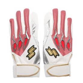 エスエスケイ SSK ユニセックス 野球 バッティング用手袋 プロエッジ一般用シングルバンド手袋(両手) EBG5100W