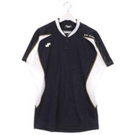 エスエスケイ SSK ユニセックス 野球 半袖Tシャツ 2ボタンTシャツ BW1701