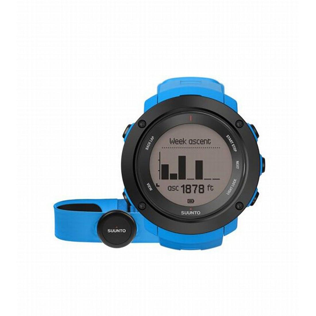 スント SUUNTO 時計 アンビット3 バーティカル HR SS021968000 7079 (ブルー)