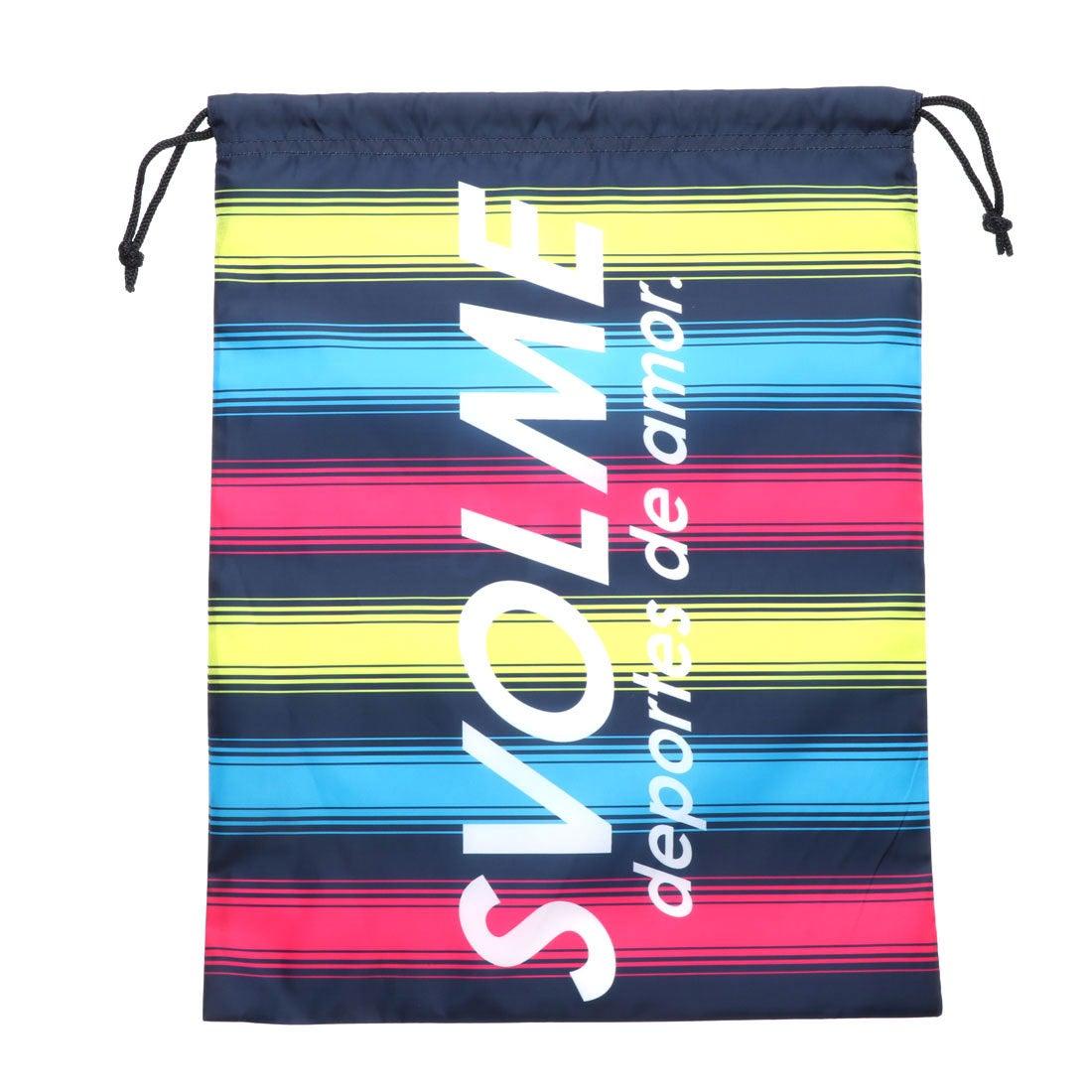 スボルメ SVOLME サッカー フットサル マルチバッグ ボーダーシューズ袋 181-68929