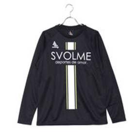 スボルメ SVOLME サッカー/フットサル 長袖シャツ ロングロゴプラT 173-46600
