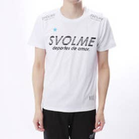 スボルメ SVOLME 陸上 ランニング 半袖 Tシャツ シンプルランシャツ 181-70600 (ホワイト)