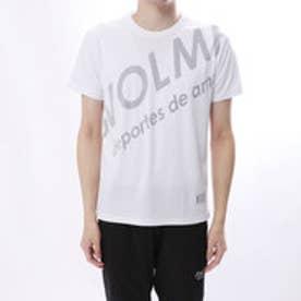 スボルメ SVOLME 陸上 ランニング 半袖 Tシャツ シャーロゴランシャツ 181-71100 (ホワイト)