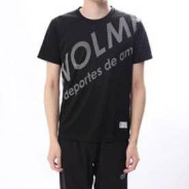 スボルメ SVOLME 陸上 ランニング 半袖 Tシャツ シャーロゴランシャツ 181-71100 (ブラック)