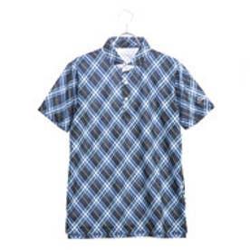 タイトリスト Titleist メンズ ゴルフ 半袖 シャツ バイヤスチェックプリントシャツ 9683087107