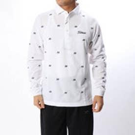 タイトリスト Titleist メンズ ゴルフ 長袖シャツ 刺繍柄カノコワイドスプレッドシャツ 9683200025
