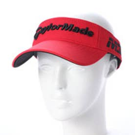テーラーメイド TaylorMade メンズ ゴルフ サンバイザー ツアーレーダーバイザー ANU24 (レッド)