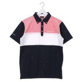 テーラーメイド TaylorMade メンズ ゴルフ 半袖シャツ CA S/S カラーブロックB.D.シャツ LOA47