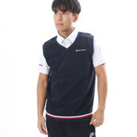 テーラーメイド TaylorMade メンズ ゴルフ ベスト CA スウエットベストレイヤードB.D.シャツ LOA86